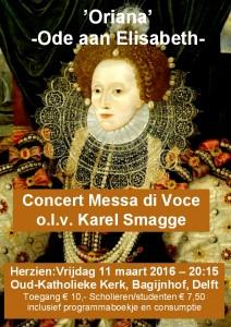 Concert 11 maart 2016 Oriana -Elizabeth